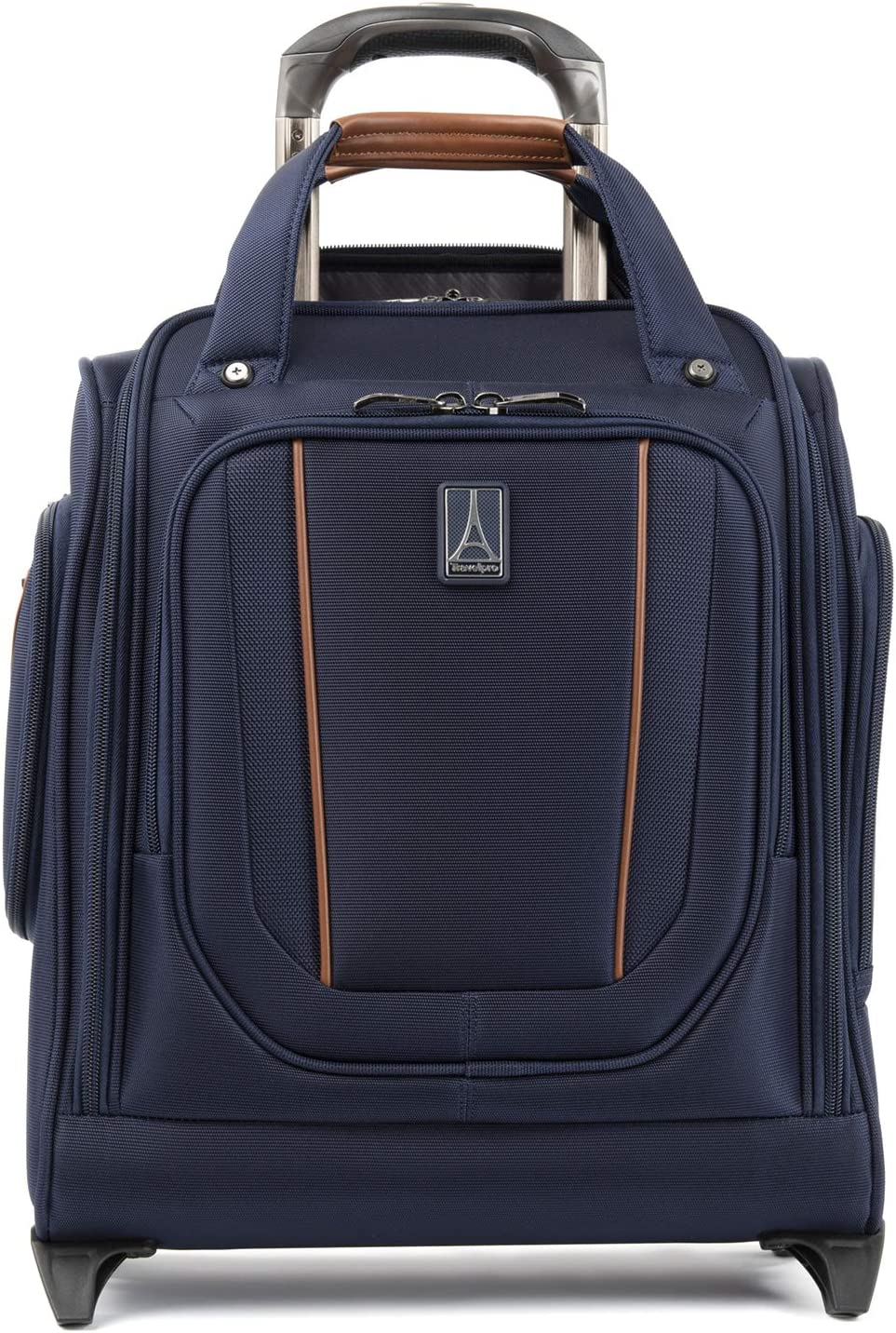 Travelpro Crew Versapack-Rolling Underseat Carry-on Bag, Patriot Blue, One Size