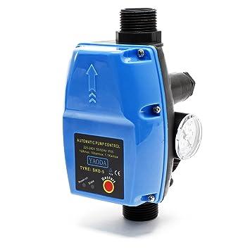 Atemberaubend Druckschalter SKD-5 230V 1-phasig Pumpensteuerung Druckwächter für @CU_03