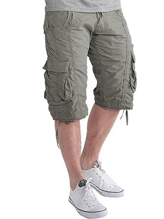 4c6972c3e4 883 Police Mens Designer Casual Cargo Shorts Holiday Cotton Summer Combat  Pants: Amazon.co.uk: Clothing