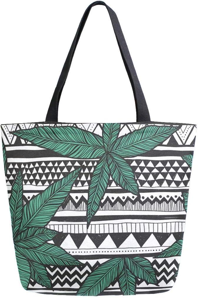 Hunihuni Bolsa de lona para la compra de marihuana de cannabis, tamaño grande, reutilizable