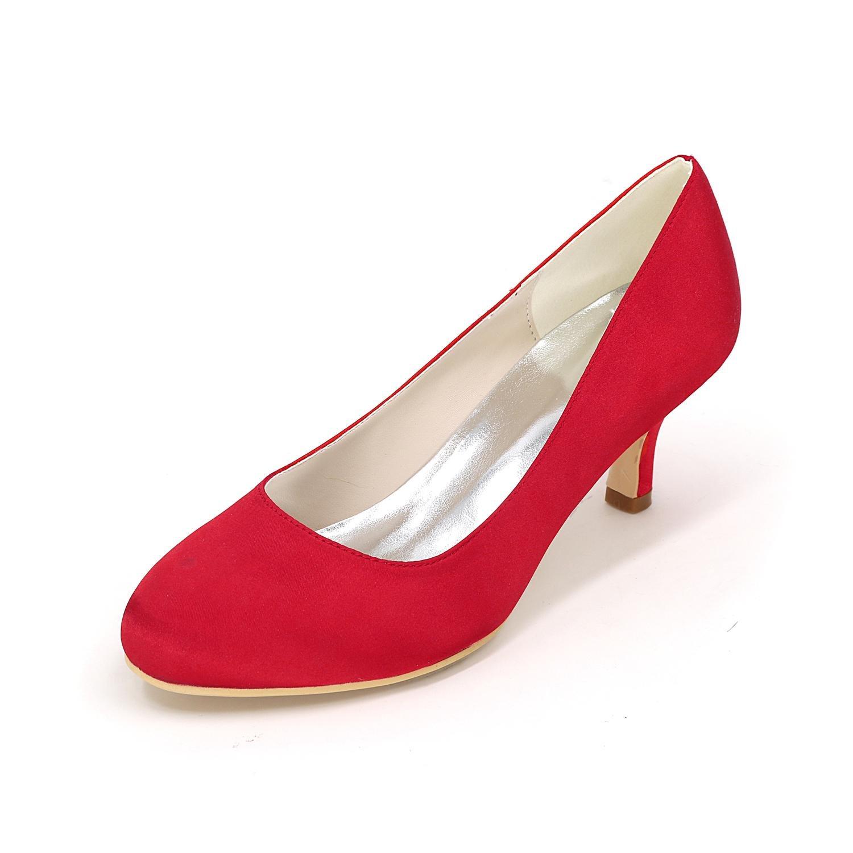 L@YC Frauen Frauen Frauen - High - Heels Schuhe Seide Große Yards Hochzeit Schuhe Party Hochzeitskleid Multi - Farbe 4852 b171fa