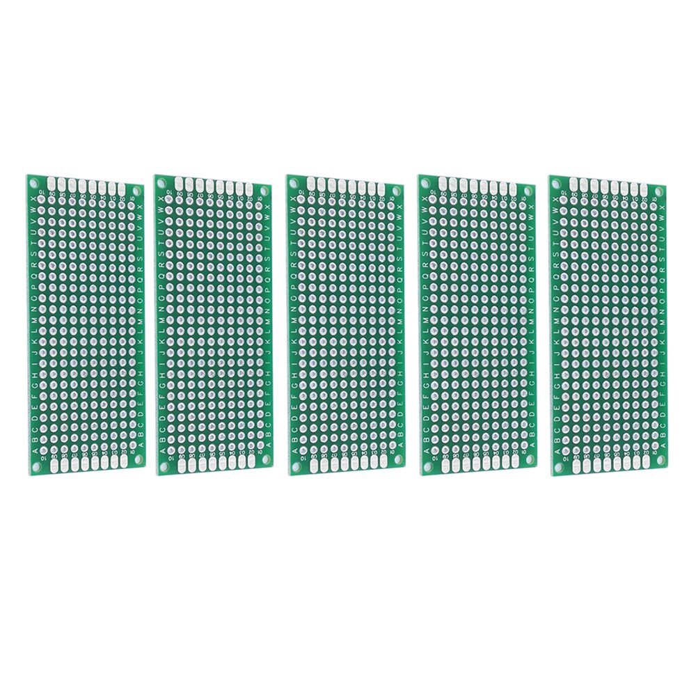 SECOM Double-Side Tin-plated Universal PerfBoard 0.06 Thick 15x20cm 3pcs Solderable PCB Prototyping Board,Project Circuit Test Board 0.1