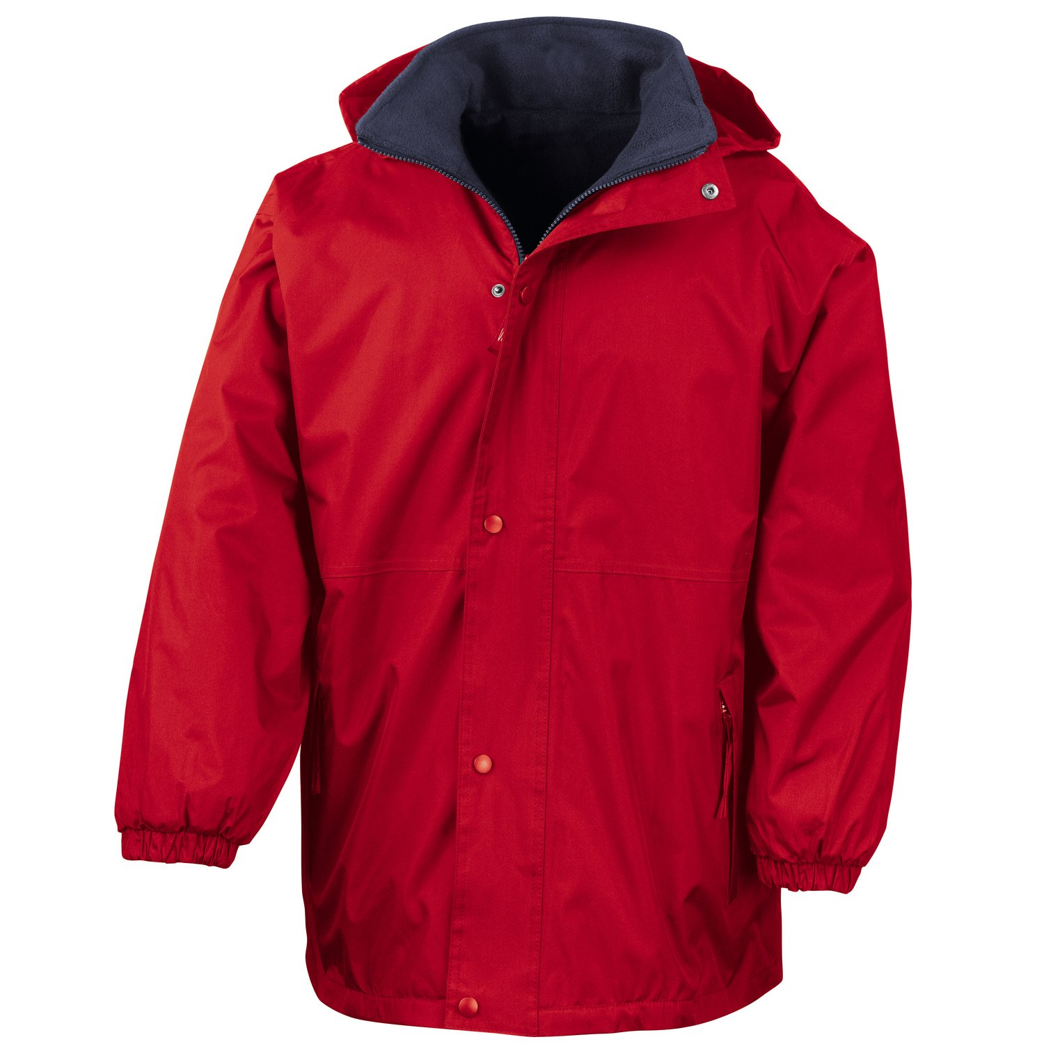 Result Reversible StormDri 4000 fleece jacket Red/ Navy 2XL
