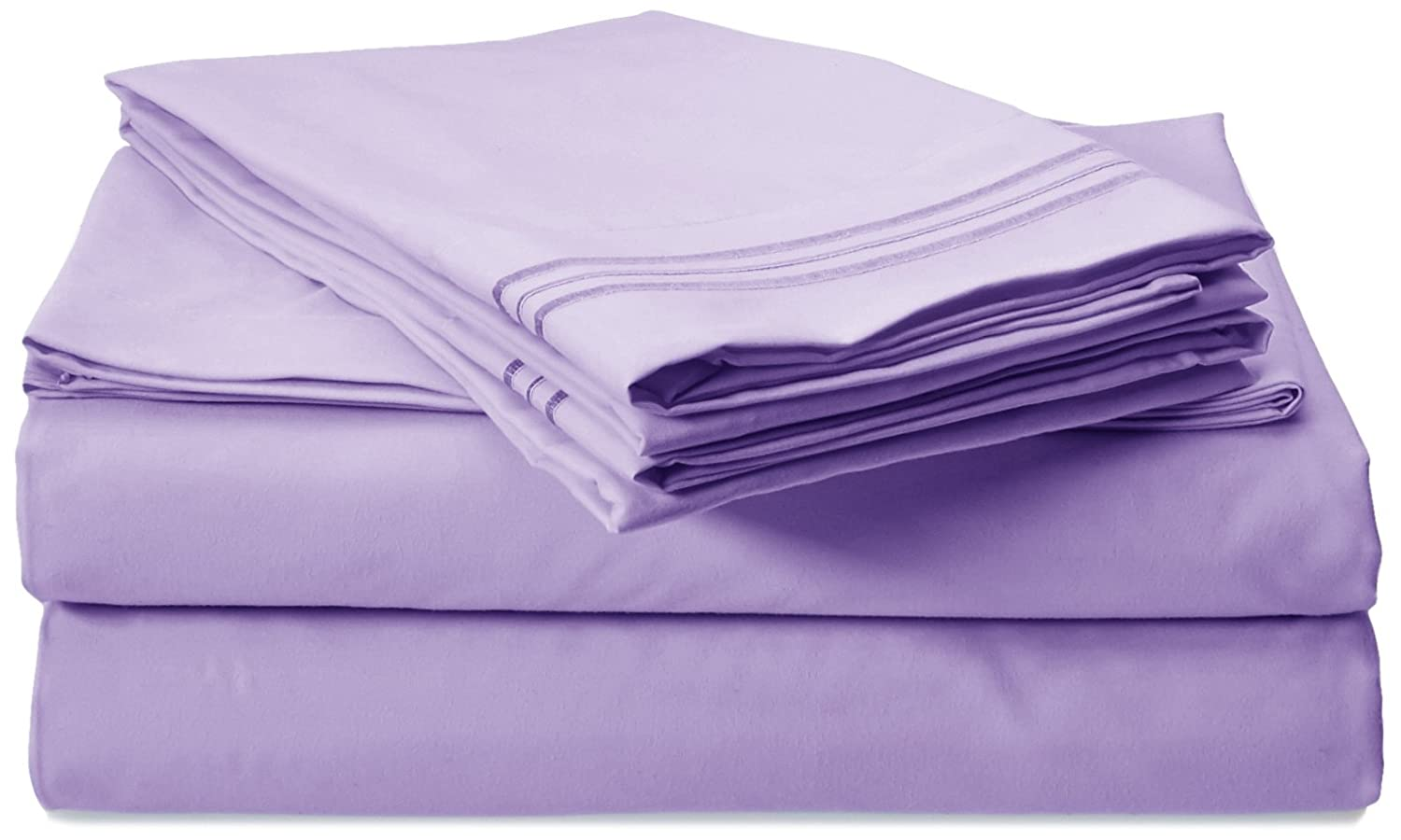Clara Clark Premier 1800 Collection 4pc Bed Sheet Set