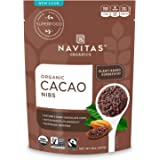 Navitas Organics Cacao Nibs, 8 oz. Bag, 15 Servings — Organic, Non-GMO, Fair Trade, Gluten-Free