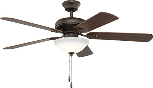 Kichler 330330SNB 52 Inch Ezra Ceiling Fan in Satin Natural Bronze on ceiling fans with lights wiring diagrams, hunter ceiling fans wiring diagrams, honeywell ceiling fans wiring diagrams,