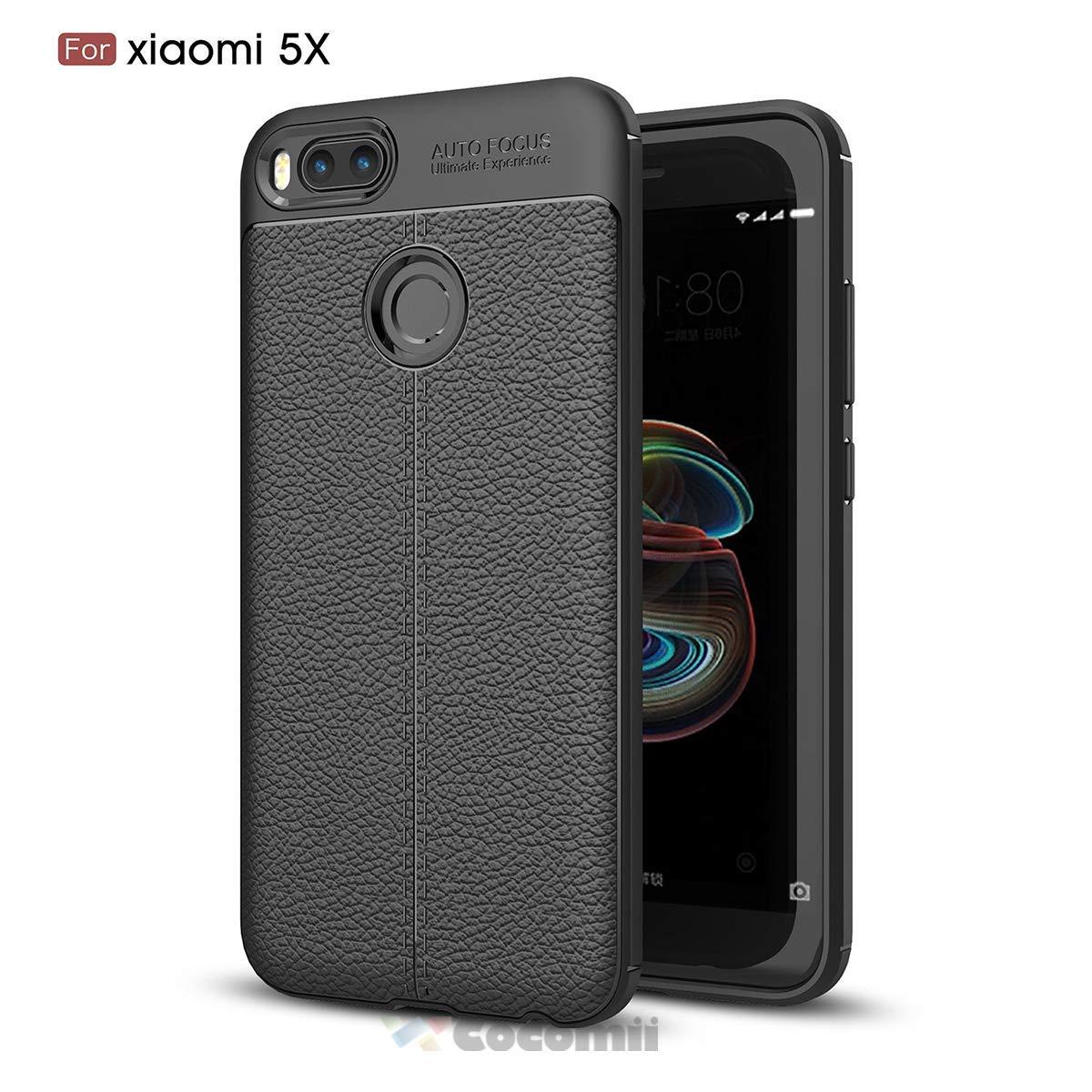 Cocomii Ultimate Armor Xiaomi Mi A1/Mi 5X Funda [Robusto] Táctico Patrón De Cuero Sujeción Corte Entallado Antichoque Caja [Militar Defensor] Case ...