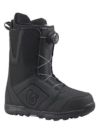 Burton Moto Boa – Botas para Snowboard, Hombre, Moto Boa, Negro