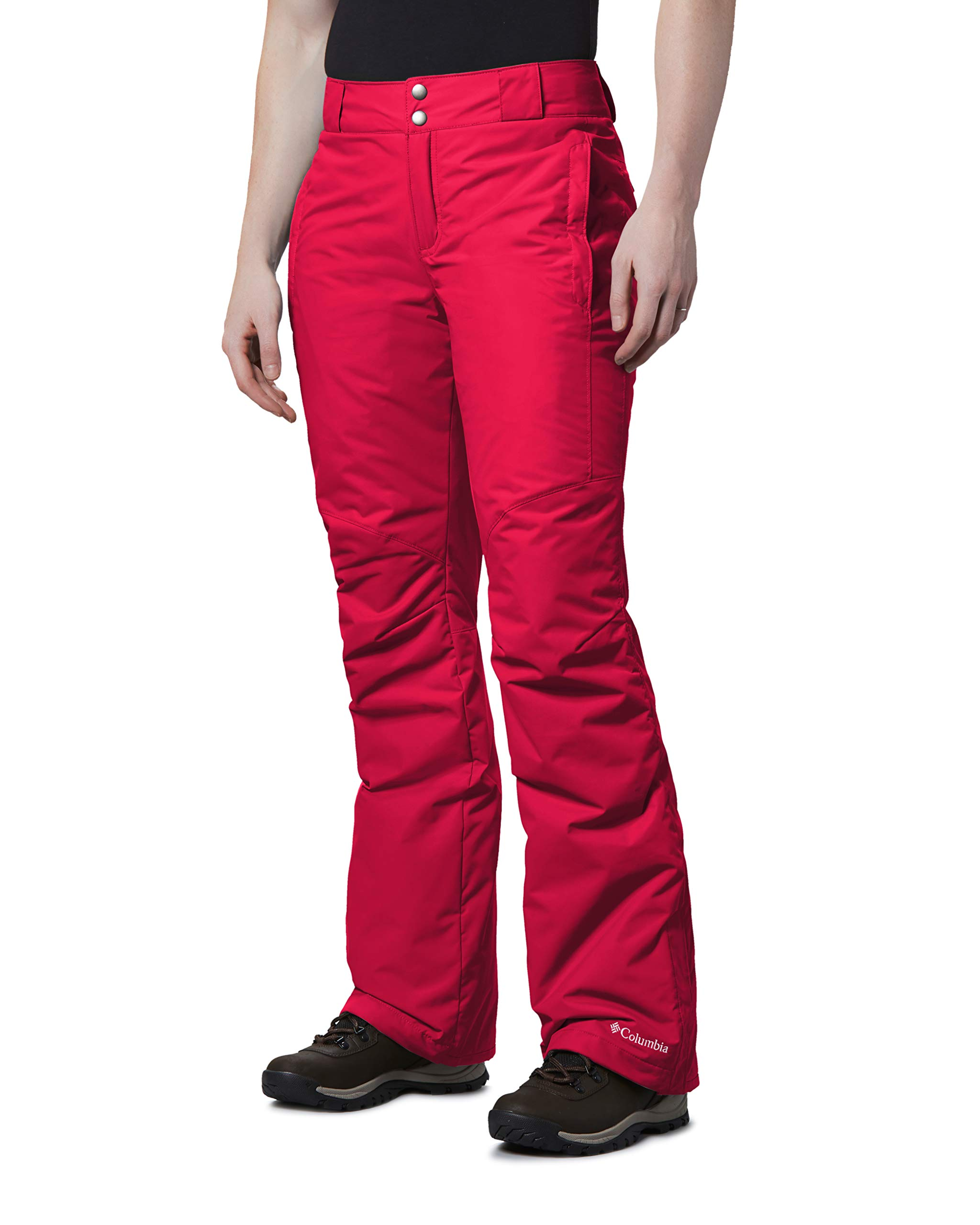 Columbia Bugaboo Ii Pants, Small x Regular, Red Mercury