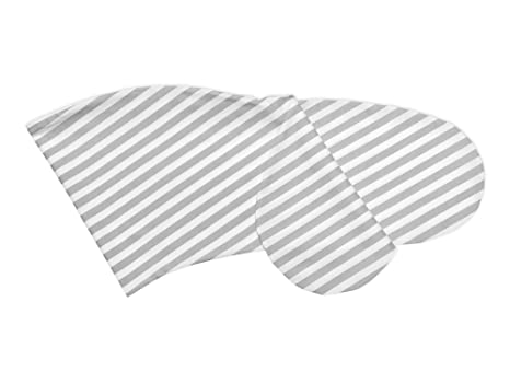 Fuerza Kids Lactancia almohada grosor rayas gris: Amazon.es ...