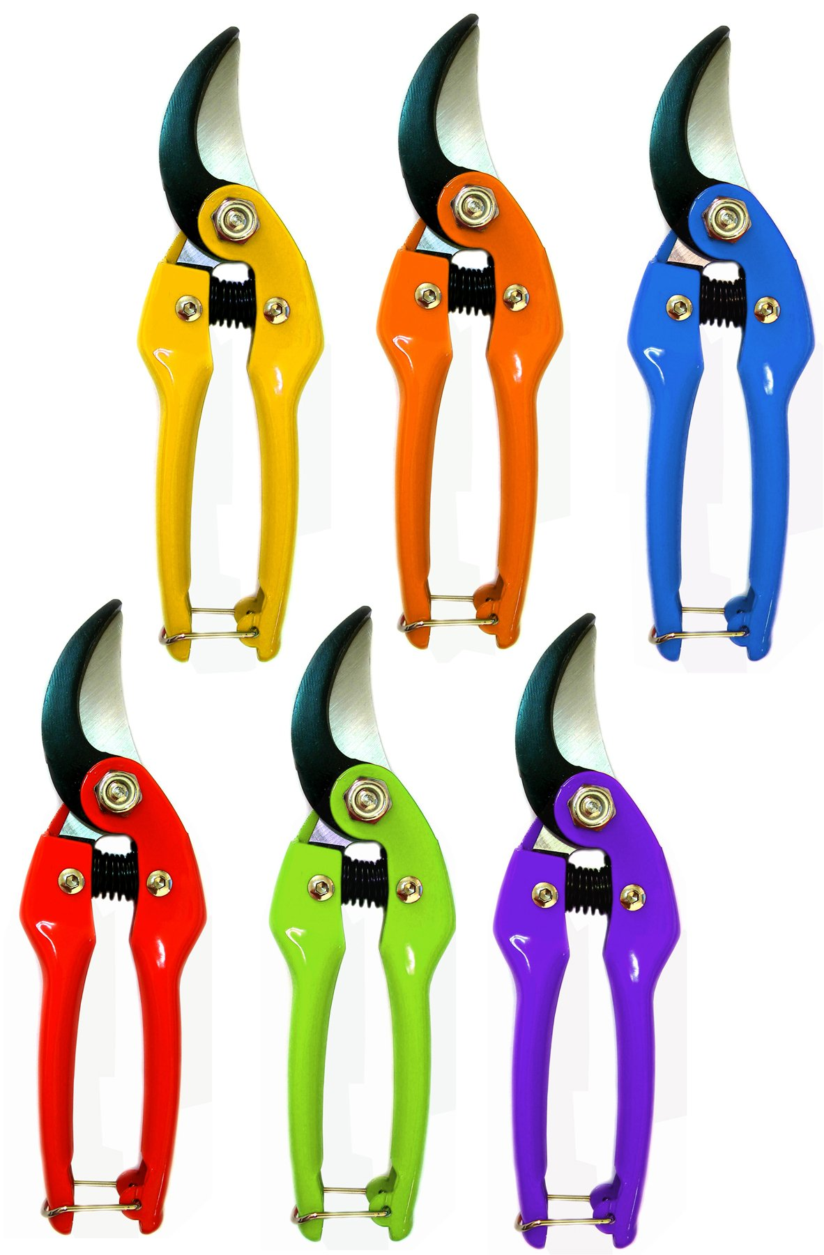 Barnel USA B175 7.5'' Assorted Colors Bypass Pruner by Barnel International