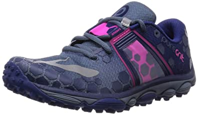 9682d8bc46a0d Brooks Women s PureGrit 4 China Blue Blueprint Pink Glo Sneaker 10 B (M