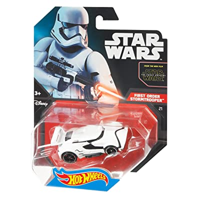 Hot Wheels Star Wars First Order Stormtrooper Vehicle: Toys & Games