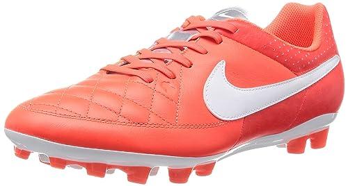 scarpe da calcio NIKE TIEMPO GENIO LEATHER AG 810  Amazon.it  Scarpe e borse a96973ec644
