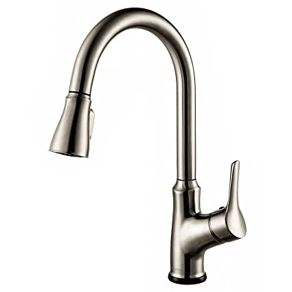 AOSGYA Single Handle Kitchen Faucet with Pull Down Sprayer ...