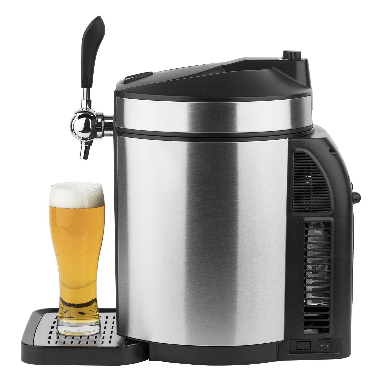 H.Koenig dispensador de cerveza BW1880 | Sorprende a tus invitados una vez más con un auténtico y fresco, incluso la cerveza de barril | Compatible con ...