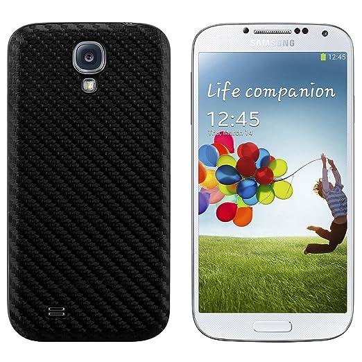 22 opinioni per Coperchio batteria in stile carbonio per il Samsung Galaxy S4 i9500 / i9505 nei