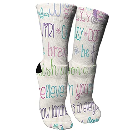 705cd1a61a1 New Princess Rules with Castle and Carriage Fashion Stylish Knee High Socks  for Women and Men
