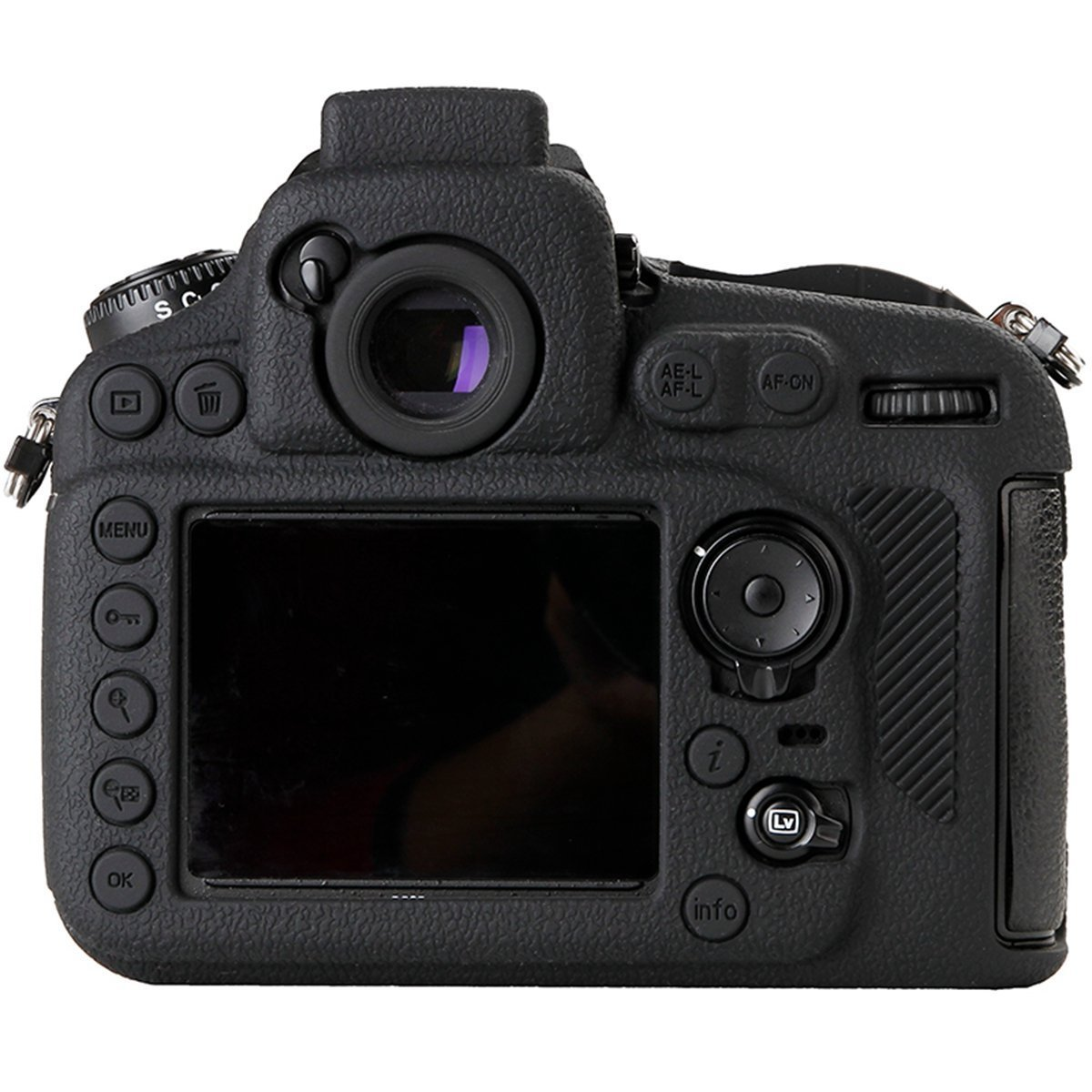 Amazon.com: hellopower Nikon D810 suave silicona armadura de ...