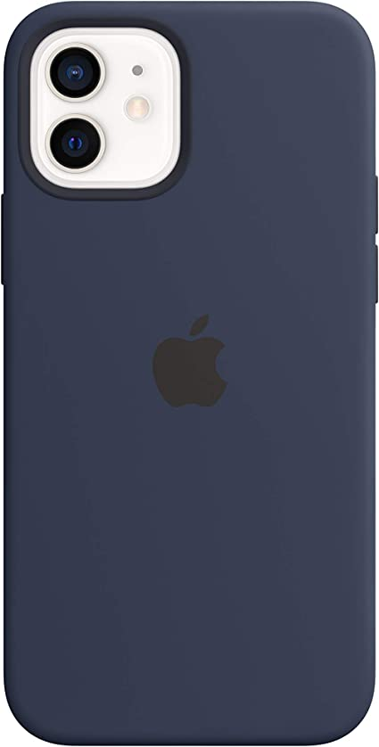 Apple Silicone Case with MagSafe for iPhone 12 and iPhone 12 Pro  Deep Navy at Kapruka Online for specialGifts