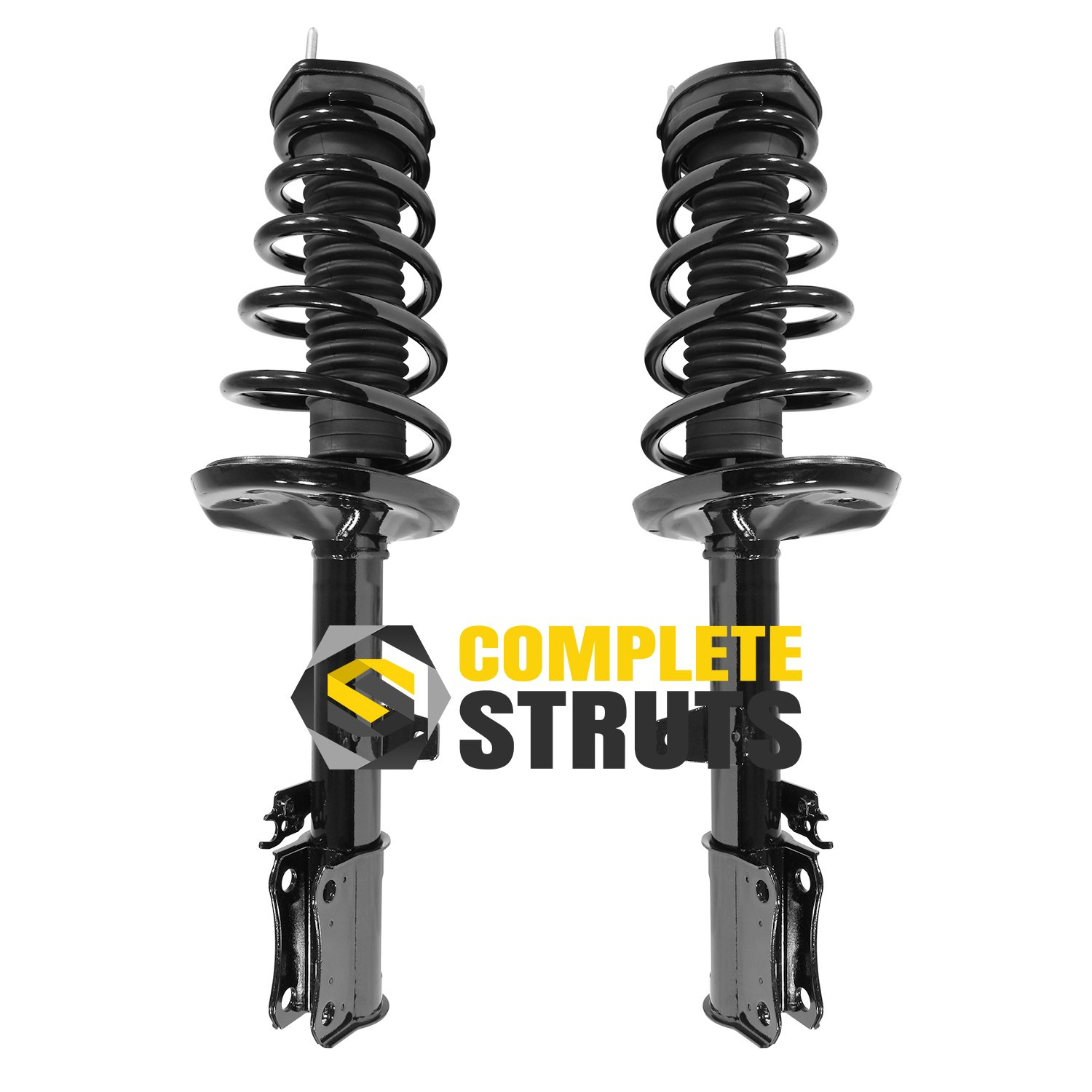 Pair Rear Quick Complete Struts /& Coil Spring Assemblies Compatible with 1999-2003 Lexus RX300 FWD
