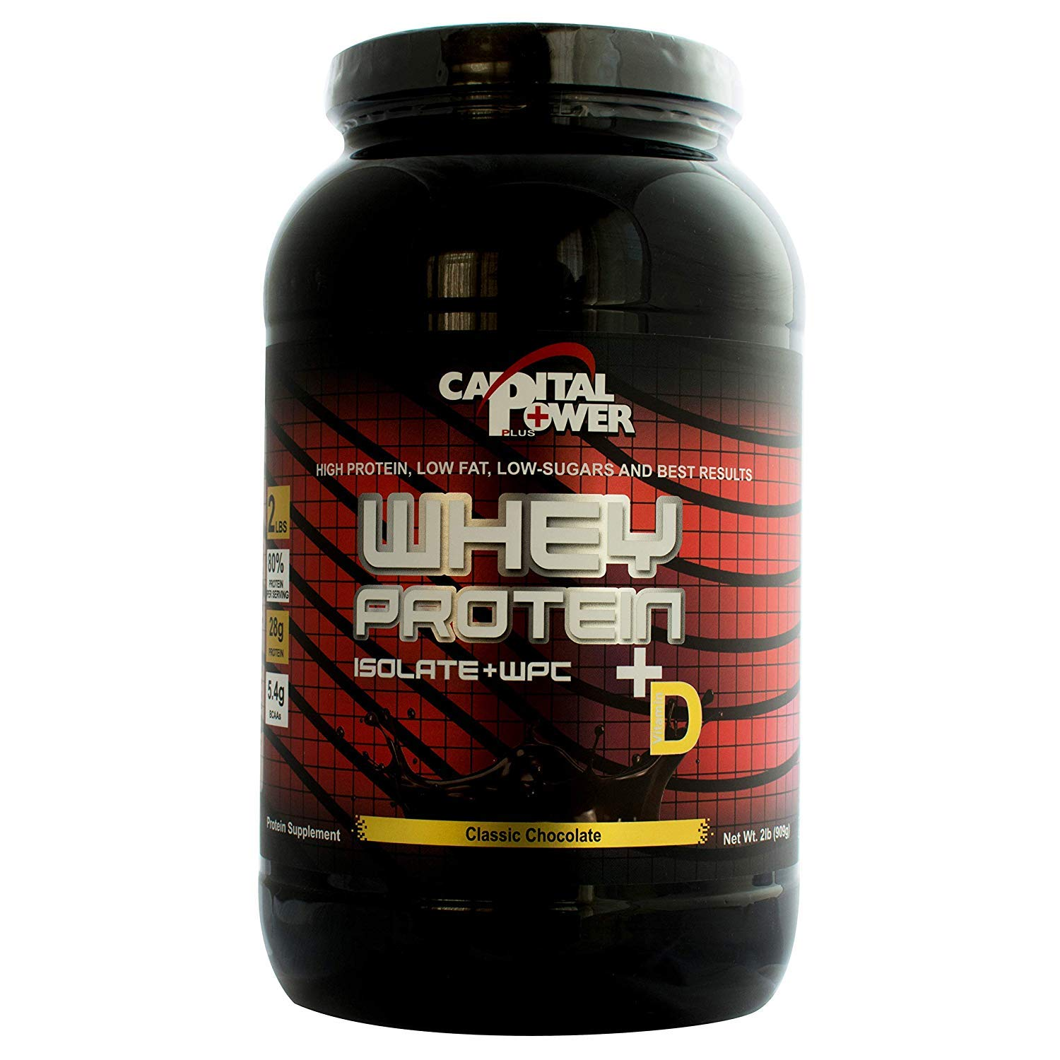 Capital Power Plus Whey Chocolate Isolate 80 Protein