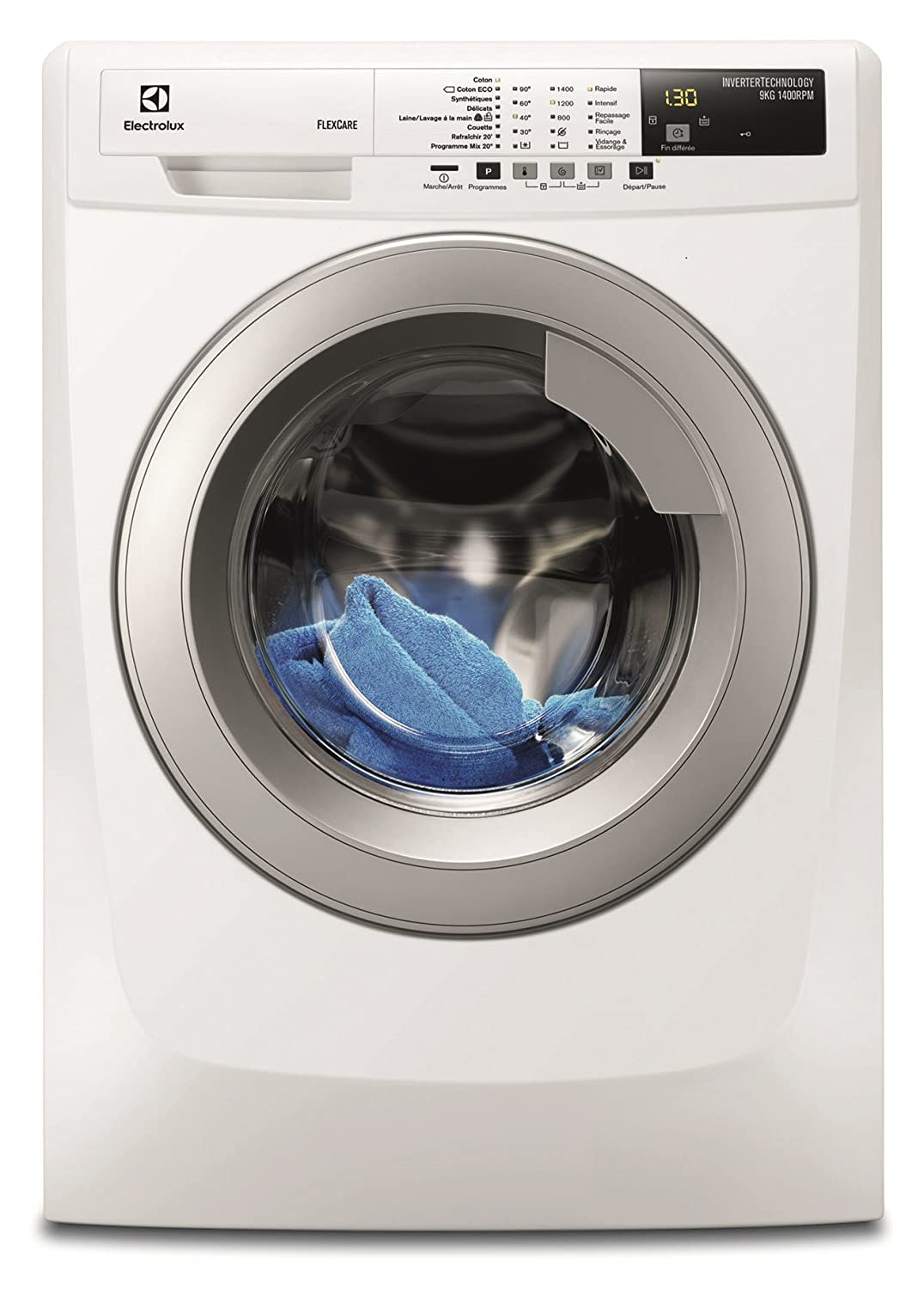 Electrolux EWF1495RB Independiente Carga frontal 9kg 1400RPM A+++ ...