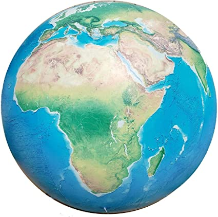 Amazon.com: Academia Maps globo gigante infatible, bola de ...