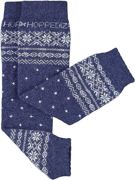 Calentadores para piernas Hoppediz/de cachemira y lana merino para beb/és color crema