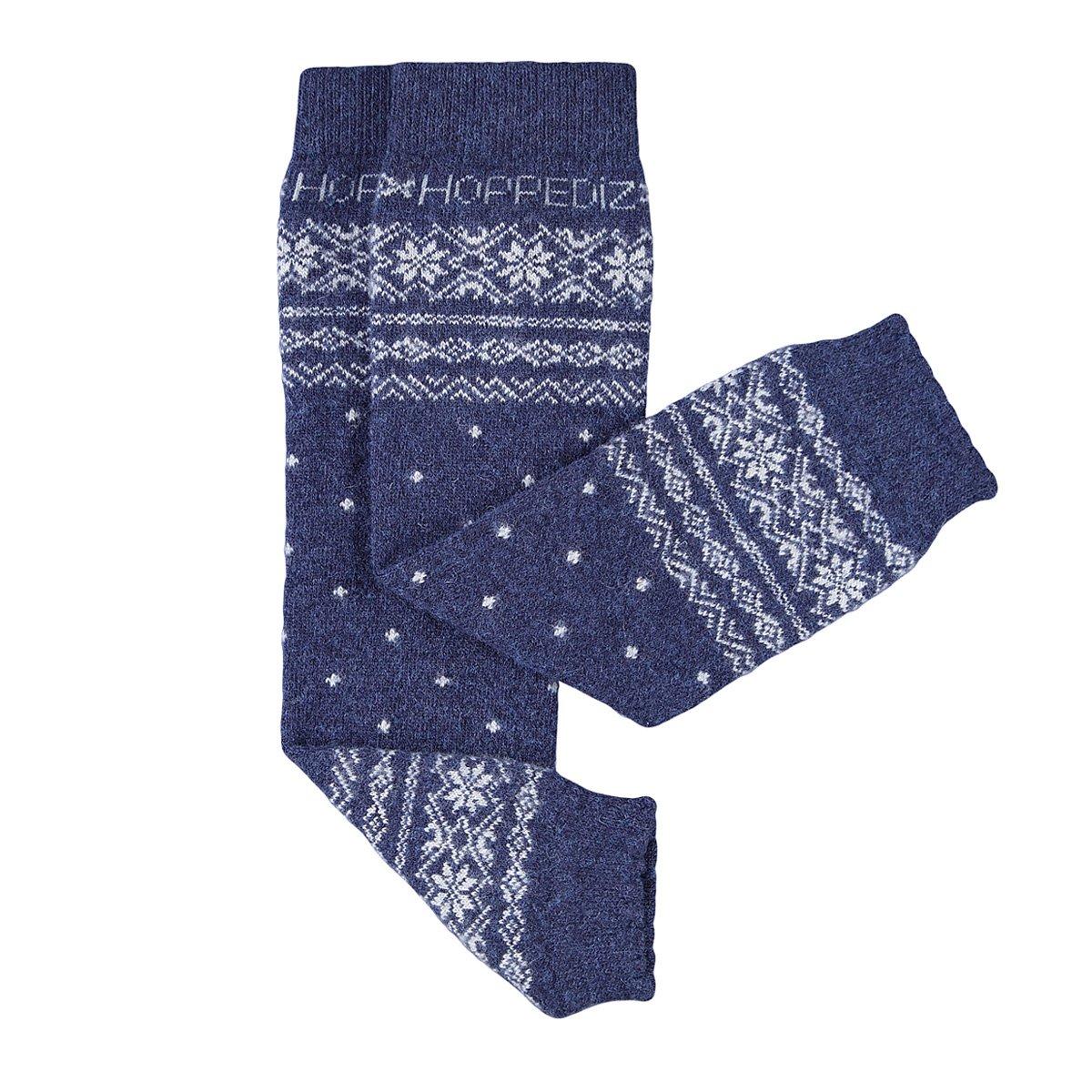 Hoppediz Cashmere/Merino Wool Baby Leg Warmers (Norwegian Blue) HOPPEDIZ GmbH & Co. KG Stn-bla