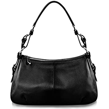 S-ZONE Geniune Leather Handbags for Women Ladies Purse Tote ...