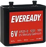Energizer 614076–Batteria 6V–Eveready nr825