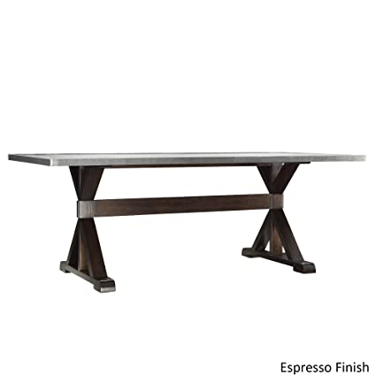 stainless steel dining table Amazon.  Trumbull Stainless Steel Dining Table Table Dining  stainless steel dining table