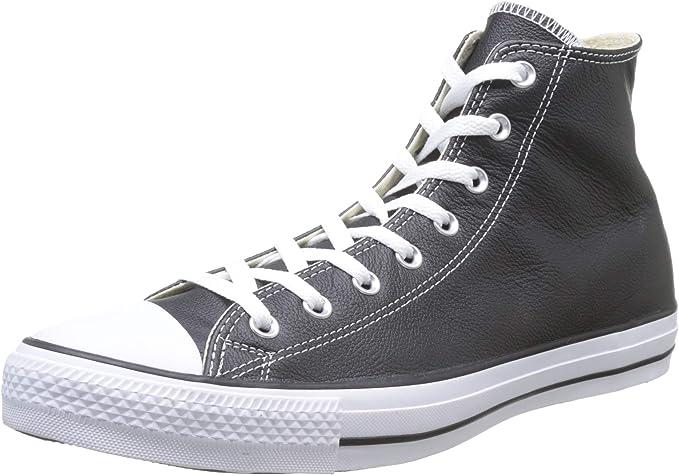 Converse Chuck Taylor All Star Hi cuoio, colore nero