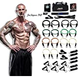 The JYM Strength Bands System, by renowned training expert Dr. Jim Stoppani, Includes 14 Best Quality ANTI-SNAP Bands
