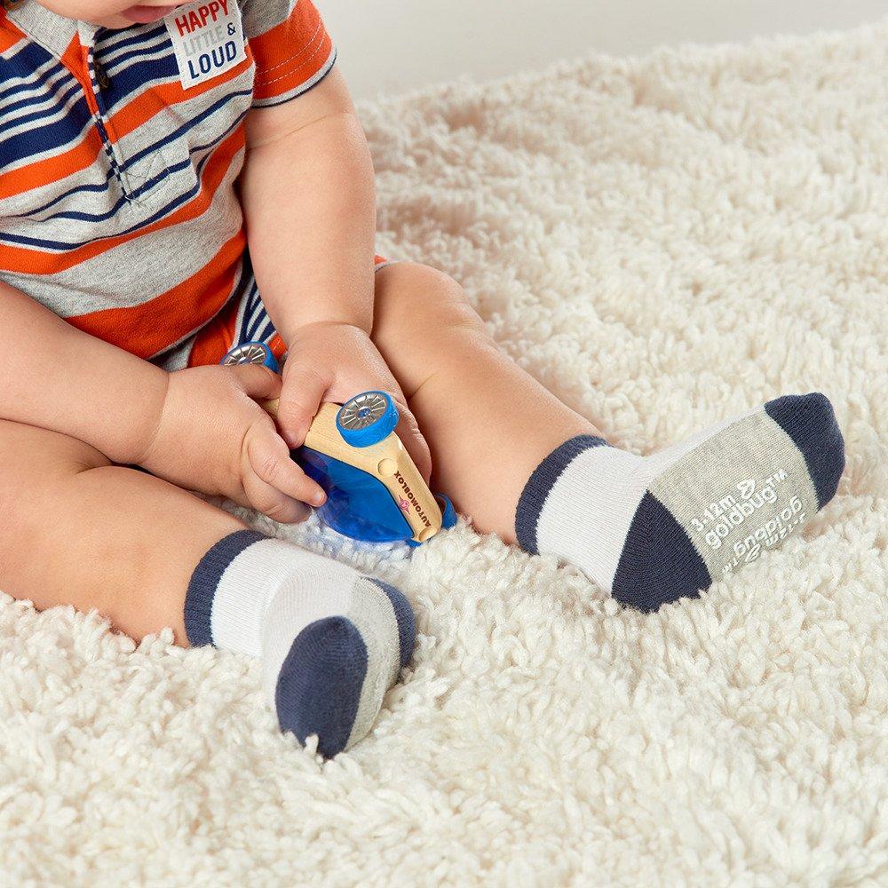 Goldbug Baby Boys 16-Pack Multi Size Socks
