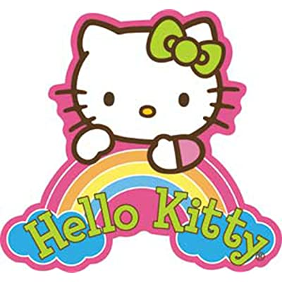C&D Visionary Licenses Products Hello Kitty Dream Rainbow Sticker: Toys & Games