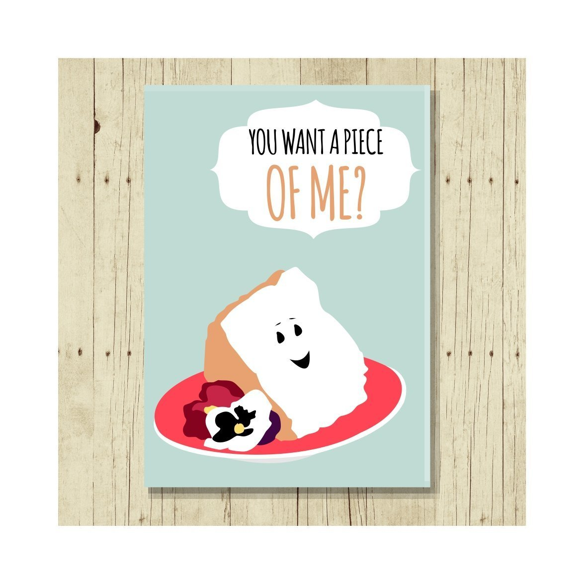 You Want a Piece of Me Magnet Puns Jumbo Size 2.5 x 3.5