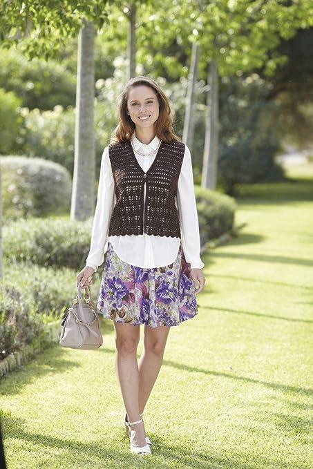 e06a093d521 Sirdar Country Style 4 ply 50g - Knitting   Crochet Patterns (7045 Crochet  Waistcoat)  Amazon.co.uk  Kitchen   Home