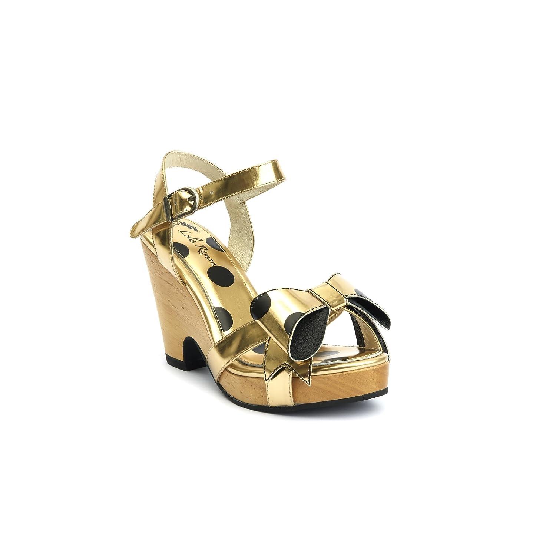 Lola Ramona damen damen damen BOZALI Goldfarben Sandalen Sandaletten 86648c