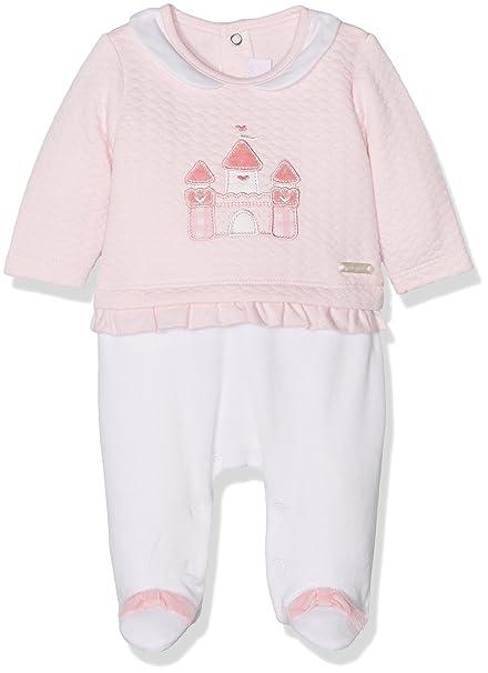 Mayoral 2609 Pelele Pullover, Pijama para Bebés, Rosa Baby, 0M