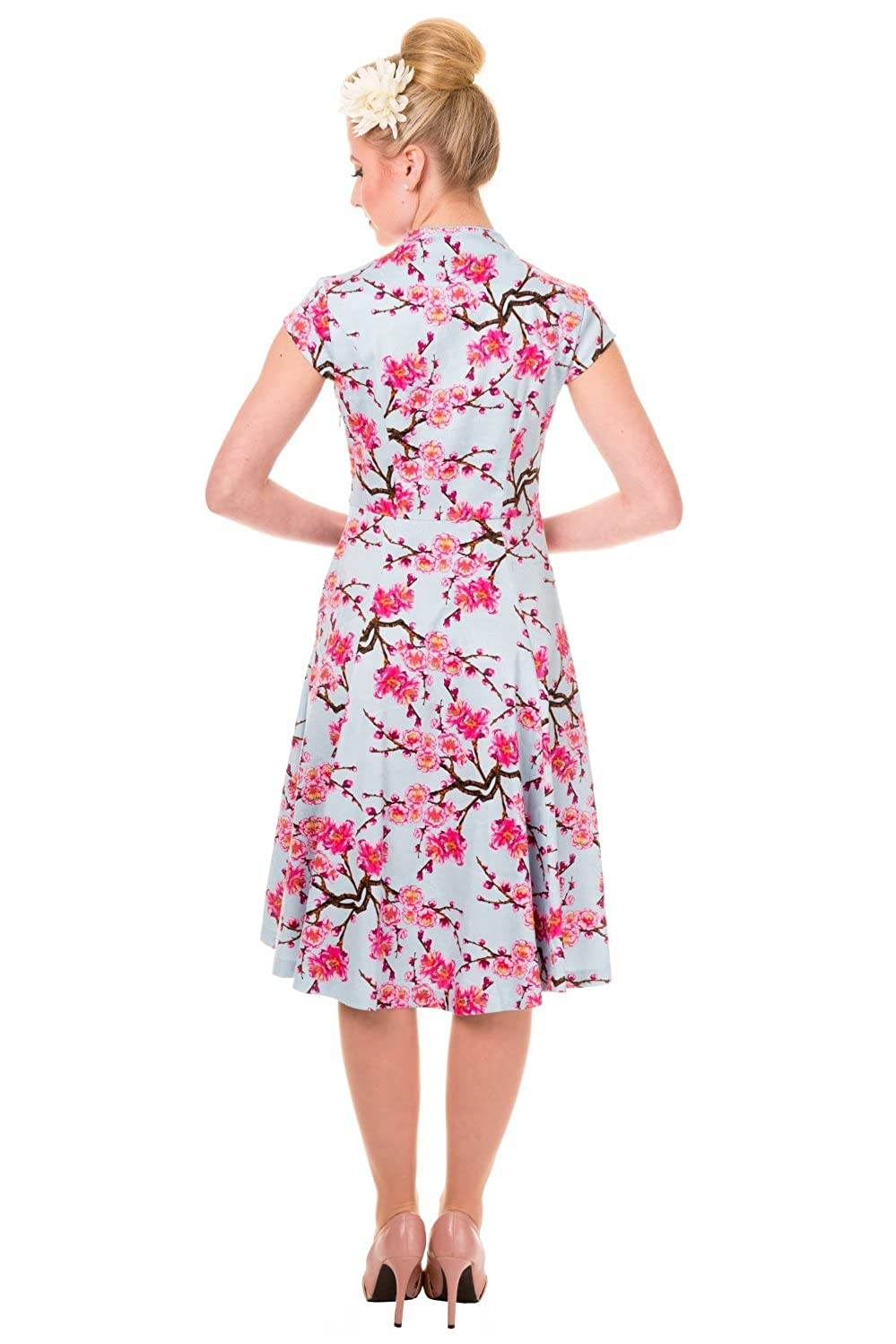 fd733def1999 Banned Last Dance Cherry Blossom Vintage Dress at Amazon Women s ...