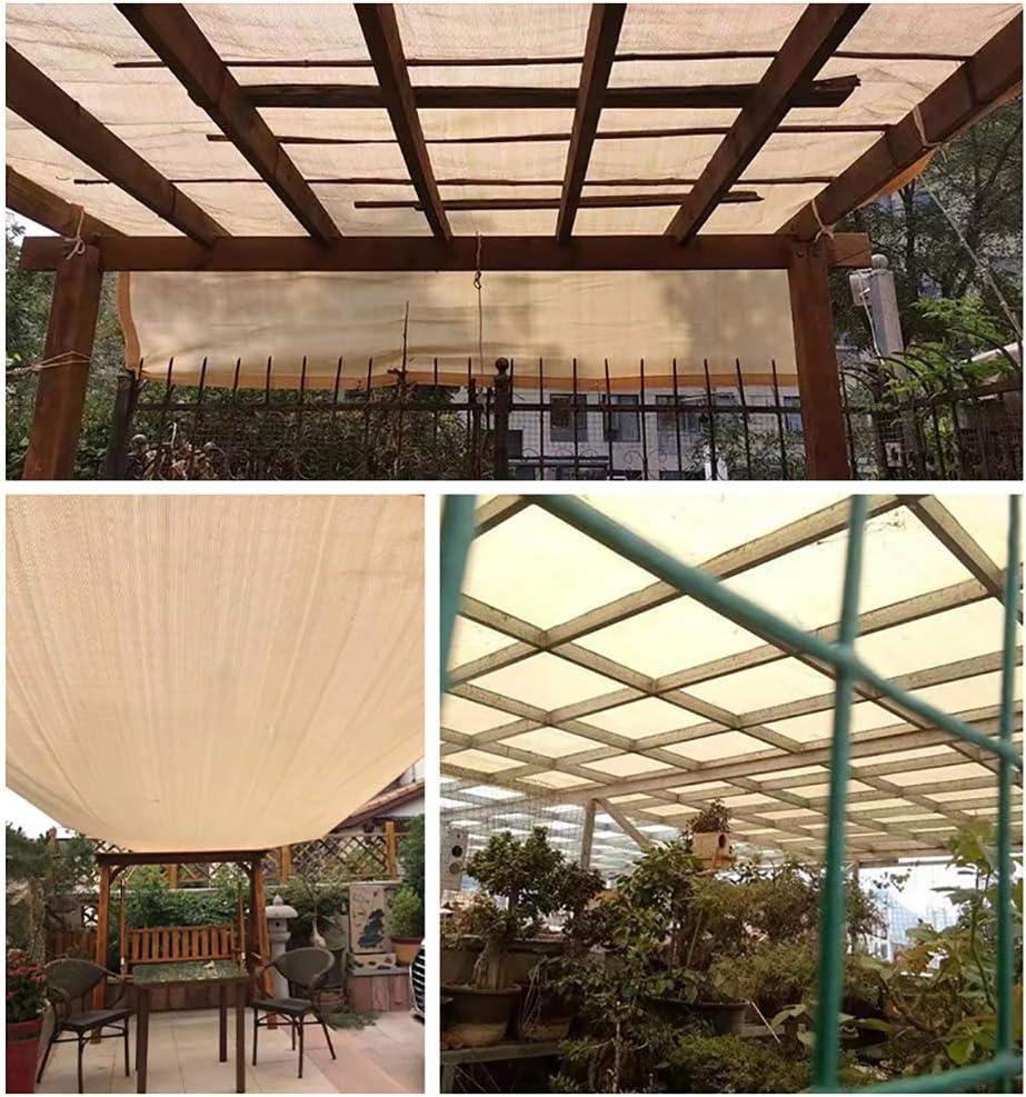 TOPYL Sombra Solar, Bloqueador Solar De Malla, Protección Rayos UV Vela De Sombra con Ojales para Cubierta De Pérgola Plantas Invernadero Jardín Bloqueador Verde Oscuro 4x5m: Amazon.es: Jardín