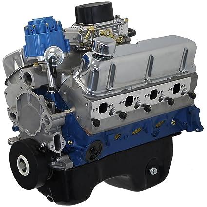 Amazon blueprint engines bp3027ctc small block ford 302 ci blueprint engines bp3027ctc small block ford 302 ci dress engine 370 hp 350 tq malvernweather Image collections