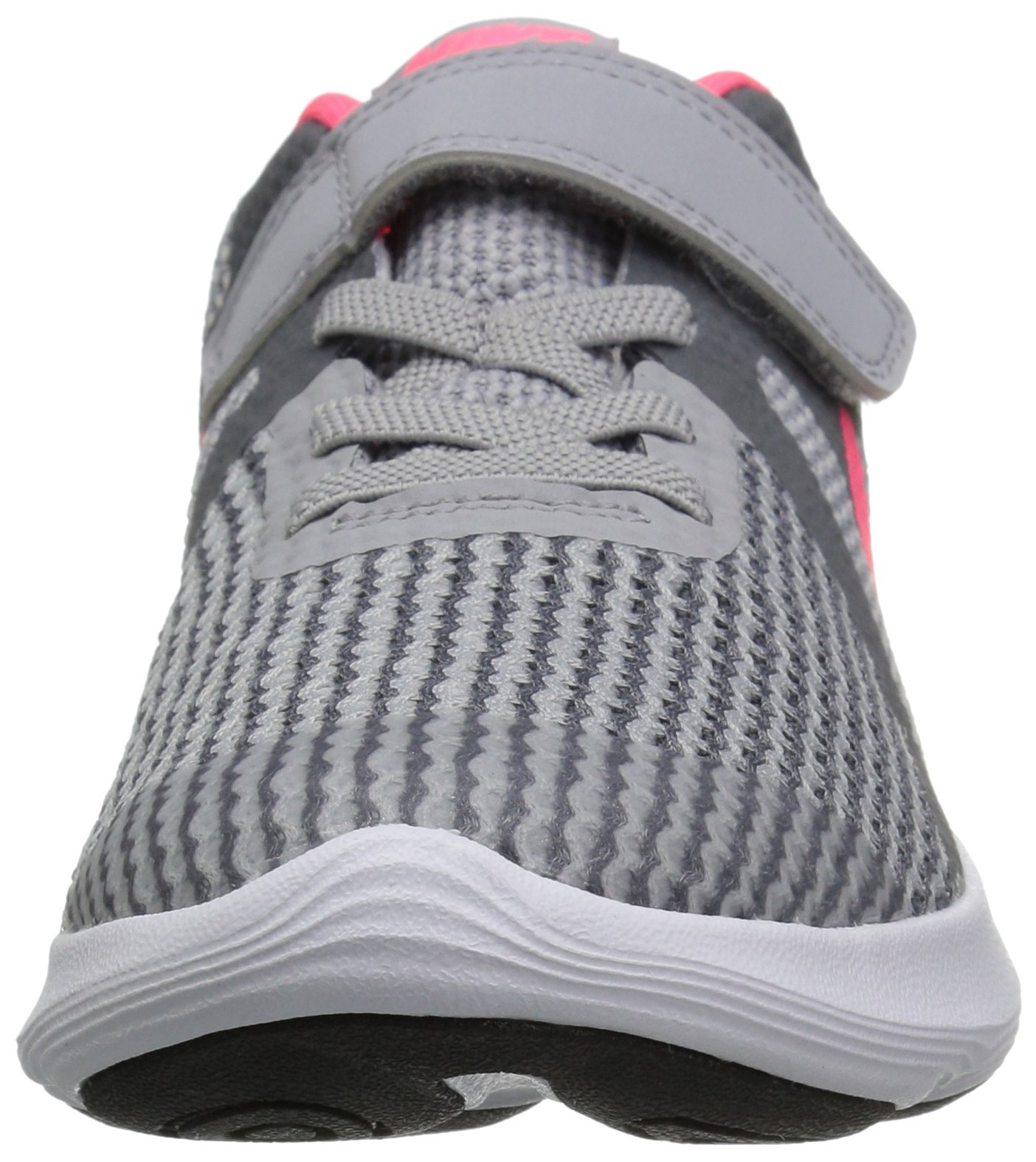 Nike Girls' Revolution 4 (PSV) Running Shoe, Wolf Racer Pink-Cool Grey-White, 3Y Child US Little Kid by Nike (Image #4)