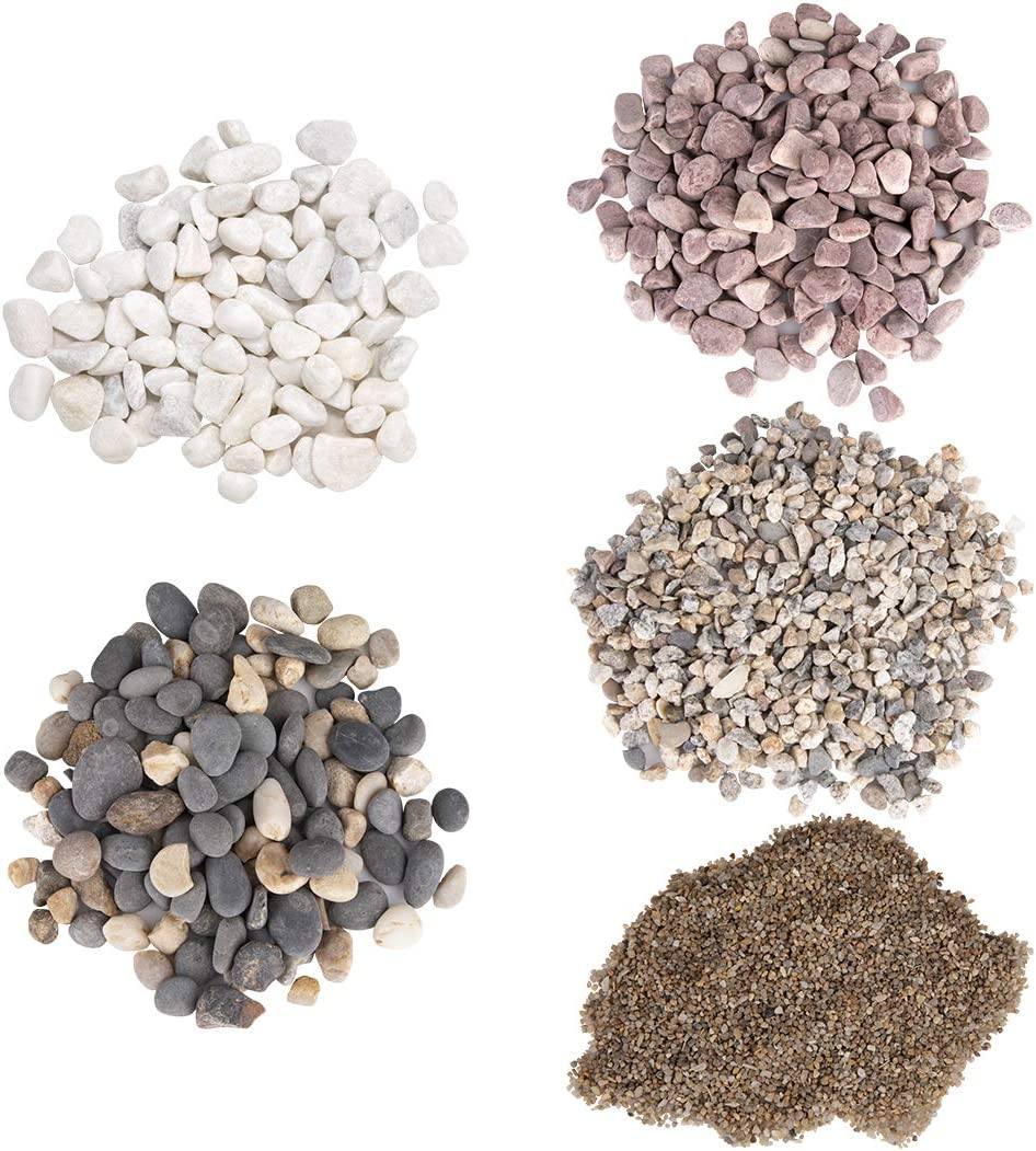 Baby Pink gravel for terrariums and craft projects 2-4 MM 100g