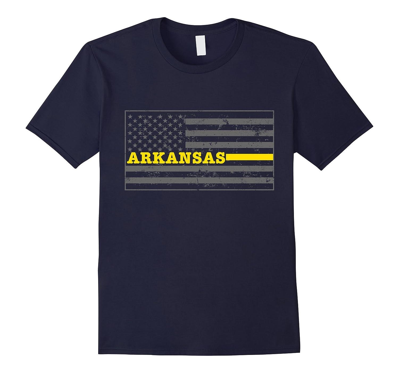 Arkansas Tow Truck Driver Shirt Thin Yellow Line Shirt-CD