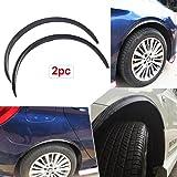4pcs Carbon Fiber Car Truck Wheel Well Molding