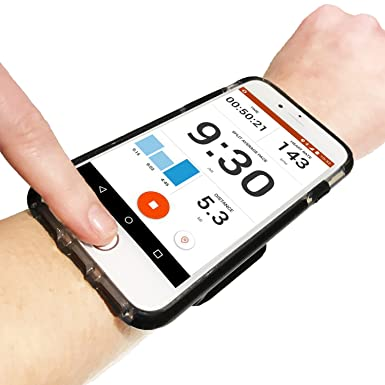 wholesale dealer 81b05 0e810 iPhone 8/7/6 Running Wristband (Small - Large Forearm). Exercise Phone  Holder Case, Perfect for Runners, Gym Workouts and Outdoor Sports