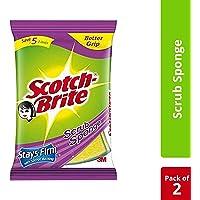 Scotch-Brite Scrub Sponge (Large) - Set of 2Pcs